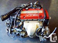 JDM HONDA H22A EURO-R COMPLETE ENGINE 5 SPEED LSD T2W4