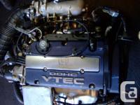 JDM HONDA H23A VTEC 1996-2000 OBD2 ENGINE ONLY COMPLETE