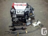 JDM HONDA ACURA RSX DC5 K20A TYPE-R MOTOR, MT 6 SPEED
