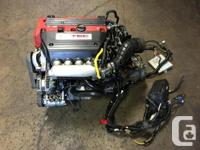 JDM K20A TYPE-R HONDA ACCORD TSX EURO-R CL7 ENGINE WITH