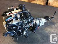JDM NISSAN 300ZX VG30DETT TWIN TURBO ENGINE, MT 5 SPEED
