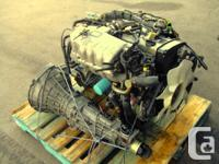 JDM NISSAN RB20DET TURBO ENGINE, MT TRANSMISSION, ECU,
