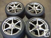 JDM NISSAN SKYLINE GTR R34 MAGS ONLY WHEELS Imported