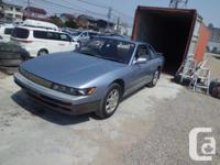 . Make. Nissan. Design. 240SX. Year. 1992. Colour.