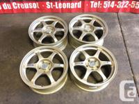 JDM SSR TYPE-C 17 INCH MAGS FOR SALE 5X114.3 / 17X7.5