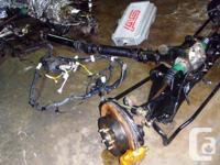 JDM SUBARU WRX STI VERSION 7 EJ20T MOTOR TURBO, MT 6