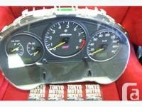 JDM SUBARU WRX STI CLUSTER VERSION 7 IMPORTED FROM