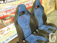 JDM SUBARU WRX STI FRONT SEATS VERSION 8 FOR SALE FOR