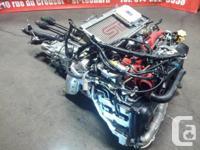 JDM SUBARU WRX STI EJ20T VERSION 8 ENGINE TURBO VF37,