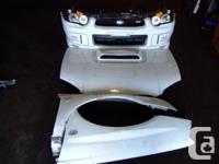 JDM SUBARU WRX STI VERSION 8 FRONT BODY CONVERSION.