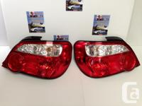 JDM SUBARU WRX STI VERSION 8 REAR TAIL LIGHTS IMPORTED