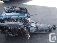 JDM TOYOTA 2JZGTTE VVTI TWIN TURBO 1996+ ENGINE, AT