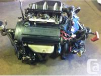 JDM TOYOTA 4AGE BLACK TOP ENGINE, MT TRANSMISSION,