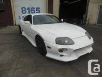 Make Toyota Model Supra Colour WHITE kms 142000 Do You