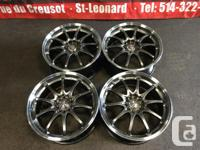 JDM VOLKRACING CE28 18''INCH MAGS ONLY WITH OUT TIRES