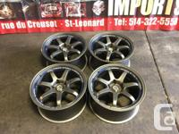 JDM WEDS SPORT RACING WHEEL 17 INCH MAGS FOR SALE