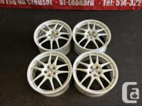 JDM WORK 17'' MAGS ONLY FOR SALE 17X7.5 OFFSET +48
