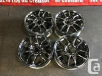JDM WORK EMOTION CR KAI 17''INCH MAGS ONLY 5X114.3