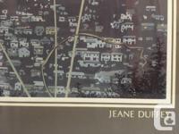 "Jeane Duffey (1927-2007) ""Vancouver Lights"", Framed"