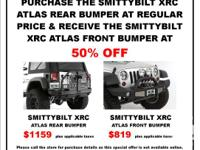 Unique offer on Smittybilt Jeep bumpers from Peden 4
