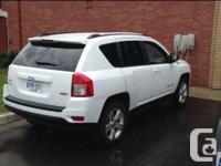 Make. Jeep. Model. Compass. Year. 2013. Colour. White.