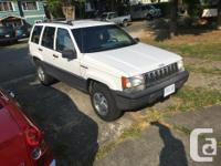 Make Jeep Year 1995 Colour White Trans Automatic kms
