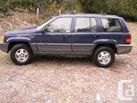 Make Jeep Model Grand Cherokee Year 1994 Colour blue