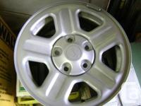 4 rims like new no scratches no tires off of 2013 jk