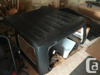 Hardtop with no windows or freedom top pieces. Has the