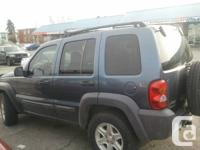 I am selling my jeep liberty car because i bought a new