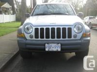 Make Jeep Model Liberty Year 2005 Colour Silver kms