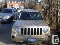 Make. Jeep. Version. Patriot. Year. 2010. Colour.