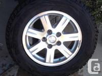 """Like new p245/65r17 Blizzak Dmv'1 winter tires on 17"""""""