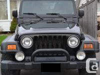 Selling 2005 Jeep Wrangler Rubicon (YJ). Reason: