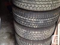 Have a set of factory jeep wheels and tires. P255/70R18