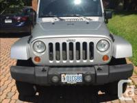 Make Jeep Model Wrangler Year 2007 Colour Silver kms