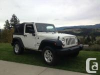 Make Jeep Version Wrangler Year 2008 Colour White kms