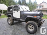Make Jeep Colour Black Trans Manual kms 230000 Here are