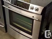 SAVE OVER $2000 !!! TOP OF THE LINE JENN AIR STAINLESS
