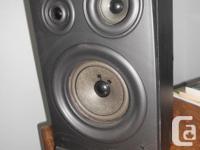 """Jensen speakers model JS 317 L 14"""" high 8"""" wide 6 3/4"""""""