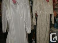 never worn, Two beautiful vintage Wedding Dresses: 1#