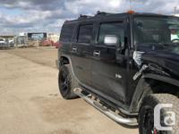 Make Hummer Model H2 Year 2005 Colour black kms 220000