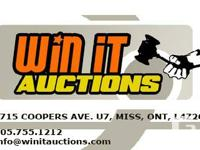 Tonight 7pm Our Weekly Online Auction will begin.