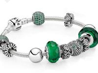 Pandora sells nice watches, charms, bracelets, rings,