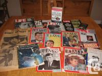 Collection of ephemera memorabilia - journals,