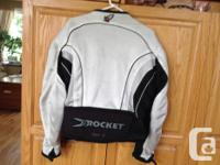 Joe Rocket Men's medium vented mesh motorcycle jacket.