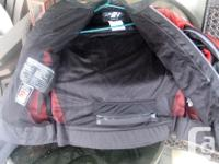 Joe Rocket motorcycle jacket. Size large. Leather and