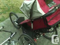 Baby jogger stroller worth $1500 new. Comes with rain