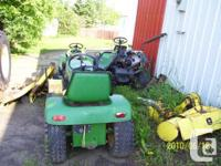 Wanted John Deere utility tractors, greens mowers,