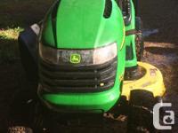 John Deere lawn mower/tractor 2017 Briggs & Stratton